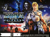 Masters Of The Universe 1987 Repro Reproduction Print