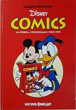 Becattini DISNEY COMICS la storia i personaggi 1930-1995 COMIC ART 1995