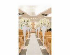 Wedding Aisle Runners / Chandelier Aisle Markers Set Of 6 Complete