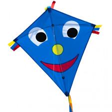 CIM Kinder Drachen Happy Eddy Blue Einleiner Flugdrachen inkl. Drachenschnur