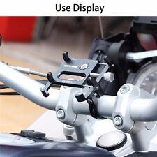 PLUS 9 CNC Aluminum Alloy Phone Holder Bicycle Motorcycle Handlebar Holder Mount