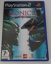 BIONICLE HEROES LEGO PS2 PLAYSTATION 2 ITALIANO COME NUOVO  SONY COMPLETO