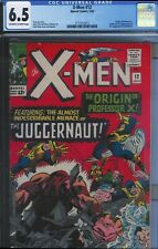 CGC 6.5 X-MEN #12 JUGGERNAUT 1ST APPEARANCE OW/WHITE PAGES 1965 JACK KIRBY