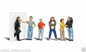 Woodland Scenics Scenic Accents Rebels Figures Set N Scale