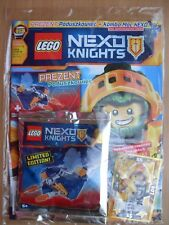 LEGO Nexo Knights Magazine 12/2017 + Hovercraft - Limited Edition Minifigure