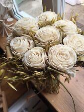 artificial flowers wedding bouquet