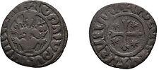 ARMENIA CILICIA 1226-1270 HETOUM I Large COPPER TANK KING THRONE CROSS STAR #3
