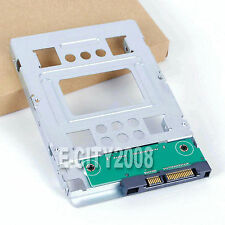 "For Hp 2.5"" Ssd to 3.5 inch Sata Adapter Tray Sas Hdd Brackets Bay 654540-001"
