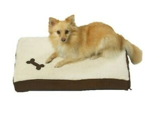 Dog Bed Mat Mattress Luxury Washable Soft Cosy Warm Plush Fleece for Small Dogs