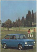 CARTOLINA FIAT 850 SPECIAL presum. anni '60 non viaggiata colori ORIGINALE
