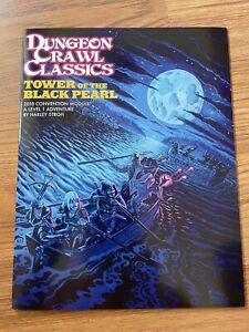 Goodman Games: Dungeon Crawl Classics (DCC) RPG - Tower of the Black Pearl