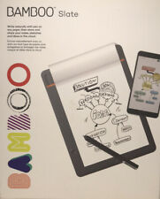 NEW Wacom Bamboo Slate Smartpad Digital Notebook Small Half Letter Size CDS610S