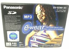 Panasonic SV-SD80 portable MP3/WMA/AAC Player - New in Box