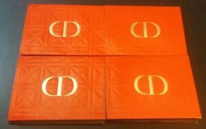 lot 4 DIOR Rouge Soin Floral Lip Care Couture Colour Lipstick sample cards
