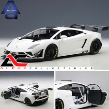 AUTOART 81358 1:18 LAMBORGHINI GALLARDO GT3 FL2 2013 WHITE SUPERCAR