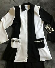 HWB Hollywood Babe PARIS Pageant Black White OOC Outfit -- Size Pre-LG (NWT)