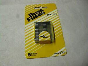 Bussmann glass fuse SFE7-1/2