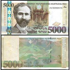 ARMENIA 5000 Dram 2012 UNC P 56