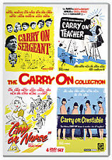 Carry On Collection Vol.1 Sergeant / Teacher / Nurse / Constable DVD Fast Post!