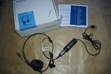 Plantronics Headset DA80 with Adaptor Tested and working