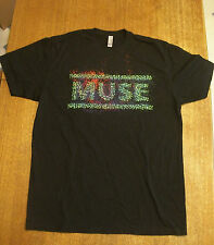 MUSE T SHIRT  Size Large  MUSE The 2nd Law Tour
