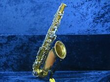 King Cleveland Tenor Saxophone Ser#C231442 No Neck Great for Repair or Parts