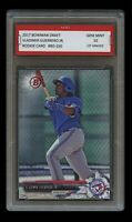 VLADIMIR GUERRERO JR. 2017 BOWMAN DRAFT 1ST GRADED 10 ROOKIE CARD RC BLUE JAYS