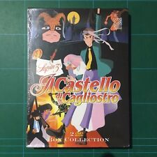 Lupin III - Il Castello Di Cagliostro 2 DVD Box Collect Sigillato 8034650010531-