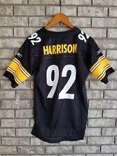 NWT James Harrison #92 Pittsburgh Steelers Youth Jersey Size L Reebok On-Field
