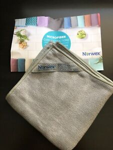 NORWEX EnviroCloth Enviro Cloth GRAPHITE MICROFIBER FREE SHIPPING!