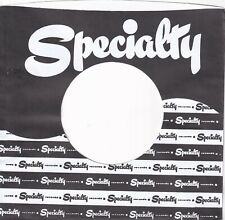 SPECIALTY Company Reproduction Record Sleeves - (pack of 5)