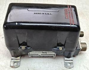 24V PRESTOLITE VOLTAGE REGULATOR MILITARY ENGINE 1118644 GENERATOR SAW-6407518