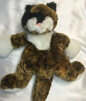 "Ganz Heritage Collection Lifelike Plush Stuffed Cat Green Eyes 15"" SANITIZED, A+"