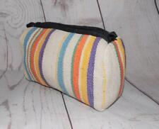 Fair Trade Wash Bag Make Up Bag Hand Made Designer Cotton Travel Kathmandu Nepal