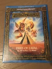 TSR FIRES OF ZATAL FORGOTTEN REALMS  NEW SW NUOVO AD&D BY JEFF GRUBB&TIM  9333