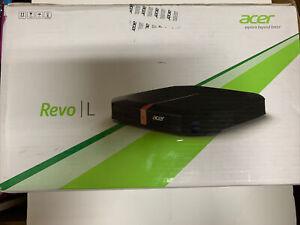 Acer Revo RL80-UR22 PC Desktop - Intel Core Processor Windows 8 4GB New Sealed