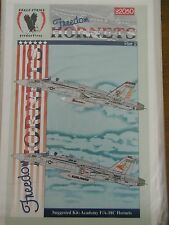 1/32 Eagle Strike FREEDOM HORNETS Pt.2: F/A-18C Sunliners, Sidewinders Decal OOP