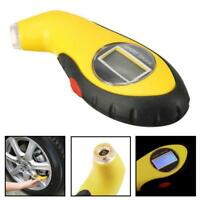 LCD Digital Tire Tyre Air Pressure Gauge Tester Tool For Auto Car Motorcycle  MT