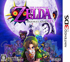 Zelda no Densetsu: Majora no Kamen 3D (Nintendo 3DS, 2015) - Japanese Version