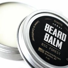 Big Forest Beard Balm- Leave-in-Conditioner- Tames & Softens Tough Facial Hair