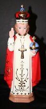 HOLLAND MOLD Infant of Prague Infant Jesus Figurine Porcelain Mint