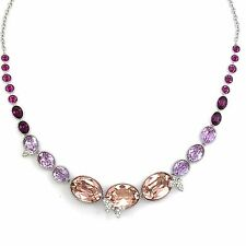 Swarovski Disney Cinderella Necklace All-Around Pink LARGE 38 cm ref 5118295