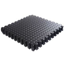 24 SQ FT INTERLOCKING EVA FOAM MATS TILES GYM PLAY GARAGE FLOOR MAT 1 CM  THICK