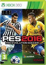 Pal version Microsoft Xbox 360 Pro Evolution Soccer 2016