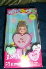 LIL HEART BE MINE VALETINES DOLL  BY KELLY/BARBIE/TARGET  MATTEL  NEW IN BOX