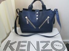KENZO  KALIFORNIA PURPLE LARGE TOTE HANDBAG AND DUSTBAG 100% AUTHENTIC