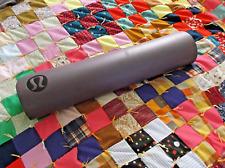 Authentic PLUM PURPLE Black Lululemon Athletica Yoga Mat Light Use 5mm SCUFFS