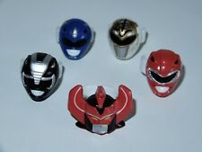 MMPR POWER RANGERS LOT OF 5 RINGS 1990s SABAN