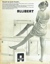 PUBLICITE ADVERTISING 126  1966  les armoires salle de bain Allibert