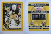 2015 SCA Cleon Daskalakis Boston Bruins goalie never issued produced #d/10 rare